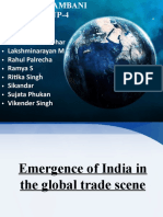 Emergence of Import and Export in International Trade