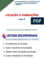 Aula 05 - Locações e Fundações