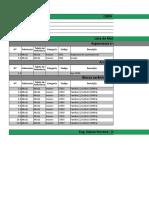 Lista de Materiais ALVEST - 040521
