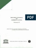 Historia General de América Latina Vol. IV Procesos Americanos Hacia La Redefinición Colonial