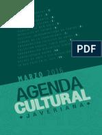 Agenda Cultural Javeriana - Marzo 2016