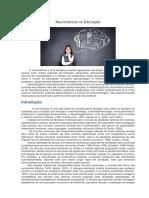 Neurociência na Educação_Bartozeck