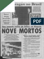 1982 - Visita do presidente Ronald Reagan ao Brasil