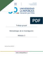 Trabajo Grupal m3 Metodología de la Investigación