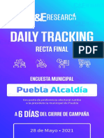 Daily Tracking 2021 Puebla 28 Mayo 2021