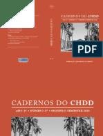 Cadernos Do Chdd - Ano 19 . Numero 37 . Segundo Semestre de 2020 (1)