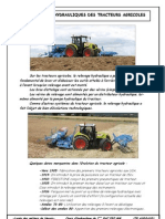 Les relevages hydrauliques des tracteurs agricoles