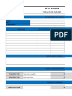Formato de Analisis de Satisfacción Del Cliente