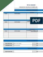 Formato de Control de Diseño Del Producto