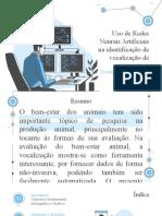 Revisão de Artigo - Redes Neurais Artificiais na vocalização de suínos