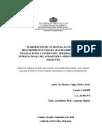 Investigacion normas y procedimientos