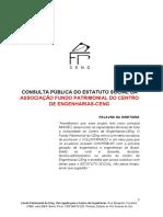 Estatuto Social do Fundo Patrimonial do CEng