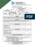 Operações Unitárias II  (Química Industrial)