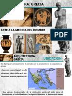 ARQUITECTURA CLASICA. GRECIA