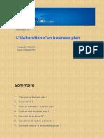 Elaboration d'un Business plan - YM 1