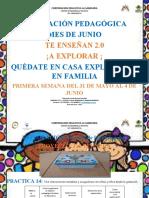 Planeación Pedagógica de Junio 2021