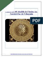 Charh des 40 Hadîth de l'Imâm An-Nawâwî