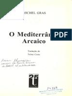 GRAS, M. O Mediterrâneo arcaico. Cap. 1. Paisagens