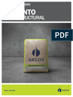 Cemento uso estructural