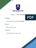 Tarea 5 - Areas Protegidas 20210598