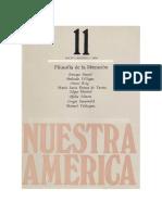 DUSSEL ROIG MONTIEL (1984) Filosofia de La Liberacion Rev Nuestra America 11 UNAM 1984