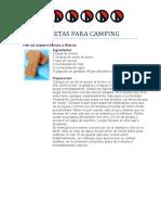 Recetas Para Camping