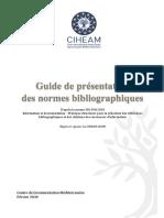 Guide Normes Bibliographiques