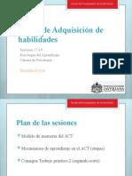 Psicología del Aprendizaje - Sesiones 17-19_2021-1