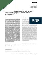 O Desenvolvimento Econômico Em Celso Furtado Uma Análise Da Apropriação Da Renda No Brasil de 2000 a 2017
