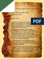 Carta Dialectica de Hegel