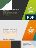 3.2. Proyecto formativo