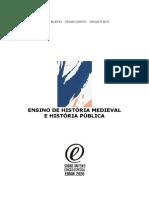 Ensino de História Medieval e História Pública 2020
