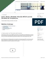 Genre, Modus, Modalität. Petzolds WÖLFE und die Pluralität der Perspektiven   Grotkopp   mediaesthetics – Journal of Poetics of Audiovisual Images