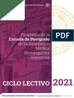 Programa Curricular AMHA 2021
