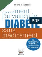 Comment jai vaincu le diabète sans médicament