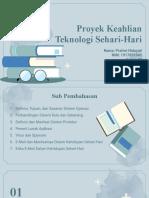 Proyek Keahlian Teknologi Sehari-Hari