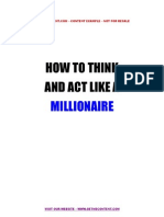 How_to_Act_and_Think_Like_a_Millionaire