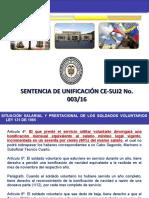 PRESENTACIÓN SENTENCIAS DE UNIFICACIÓN