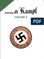 Mein Kampf (Volume II) by Adolf Hitler