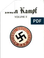 Mein Kampf (Volume II) by Adolf Hitler