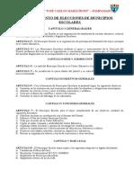 Reglamento General de Municipio Escolar Ok