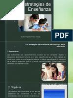 Presentación estrategias enseñanza