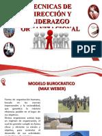 TECNICAS DE DIRECCIÓN Y LIDERZGO ORGANIZACIONAL
