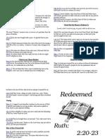 Sermon Notes March 20 2011