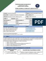 1_SÍLABO_TECNOLOGÍA DE INFORMACIÓN Y COMUNICACIÓN_DESARROLLO CURRICULAR Y DIDÁCTICA CON TIC_2021