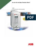 Carateristicas Variador ACS800