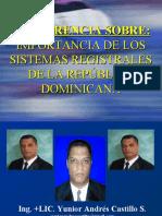 Importancia de Los Sistemas Registrales de La República Dominicana