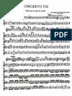 Corelli concerto grosso violin 1 concertato