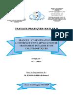 Rapport TP Matlab2 Séance2
