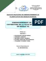 Rapport TP Dimensionnement Et Planification Des Réseaux Mobiles